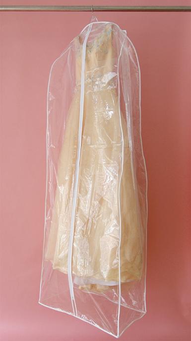 ドレス用カバー マチあり