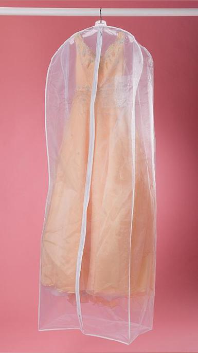 オーガンジードレス用カバー マチあり